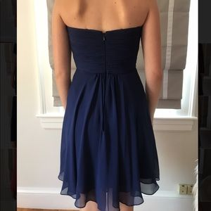 Short Strapless Cocktail Dress by Faviana
